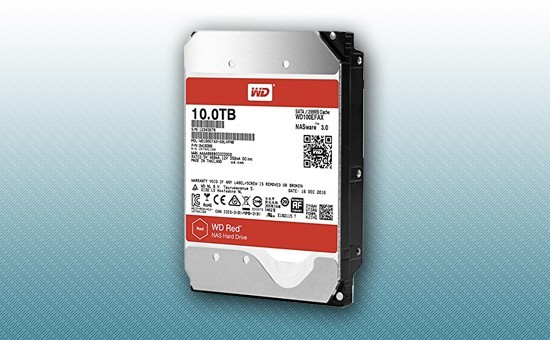 Жесткий диск 10Tb WD RED 5400 rpm SATA 6Gb/s 128Mb 3