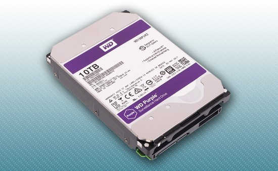 Жесткий диск 10Tb WD Purple 5400 rpm SATA 6Gb/s 256Mb 3