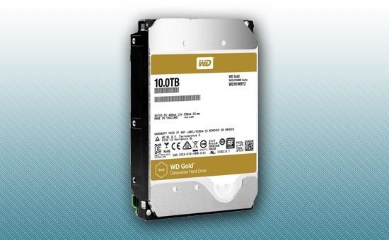 Жесткий диск 10Tb WD GOLD 7200 rpm SATA 6Gb/s 256Mb 3