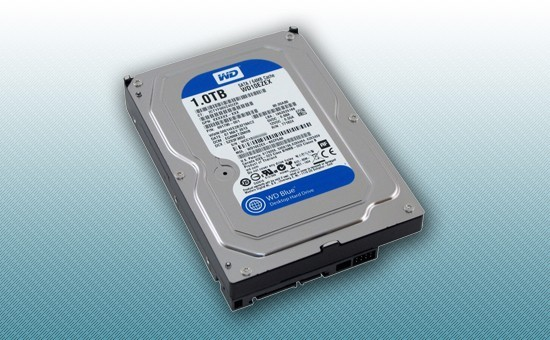 """Жесткий диск 1Tb WD Blue 7200rpm 64Mb 3.5"""" [WD10EZEX]"""