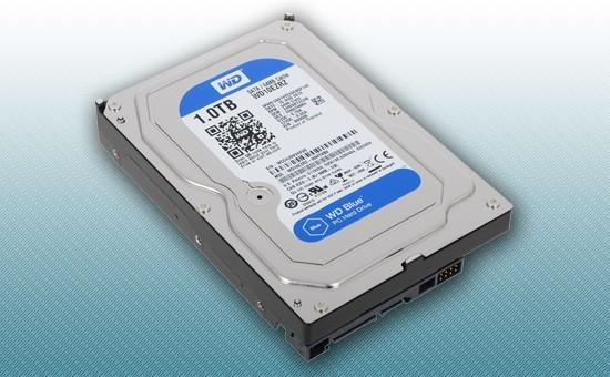 """Жесткий диск 1Tb WD Blue 5400rpm 64Mb 3.5"""" [WD10EZRZ]"""