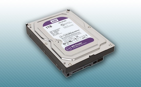 Жесткий диск 1Tb WD Purple 5400 rpm SATA 6Gb/s 64Mb 3
