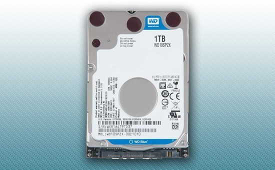 "Жесткий диск 1000Gb WD Blue 5400rpm 128Mb 2.5"" [WD10SPZX]"