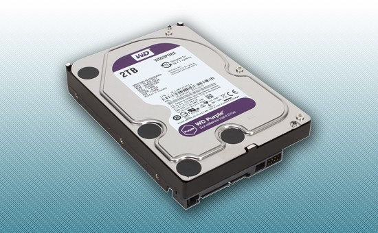 Жесткий диск 2Tb WD Purple 5400 rpm SATA 6Gb/s 64Mb 3