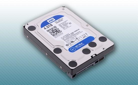 """Жесткий диск 4Tb WD Blue 5400rpm 64Mb 3.5"""" [WD40EZRZ]"""