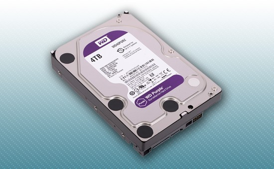 Жесткий диск 4Tb WD Purple 5400 rpm SATA 6Gb/s 64Mb 3