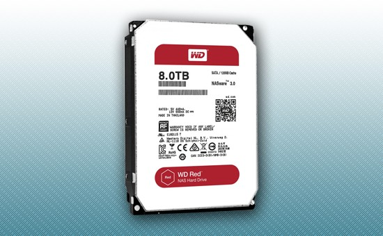 Жесткий диск 8Tb WD RED 5400 rpm SATA 6Gb/s 128Mb 3
