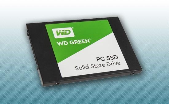 """Твердотельный накопитель SSD 240GB WD GREEN  2.5"""" SATA3 TLC [WDS240G2G0A]"""