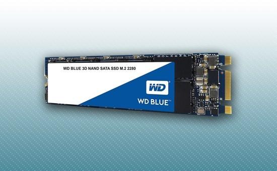 Твердотельный накопитель SSD 500GB WD Blue M.2 2280 2.5