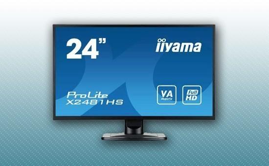 "Монитор 23.6"" Iiyama X2481HS-B1 Black"