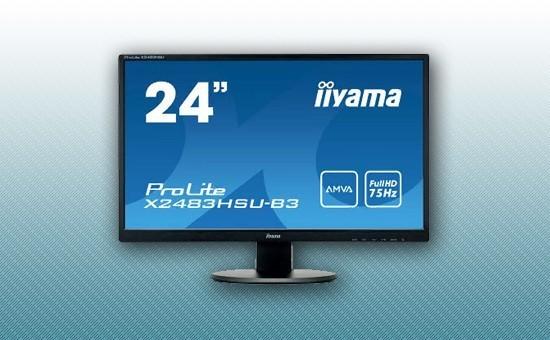 "Монитор 23.8"" Iiyama X2483HSU-B3 Black"