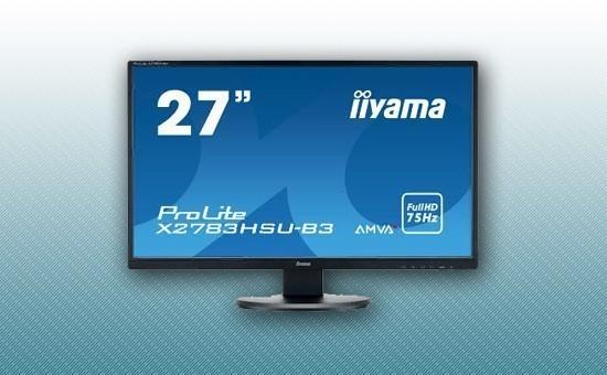 "Монитор 27"" Iiyama X2783HSU-B3 Black"