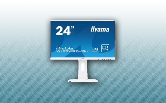 "Монитор 23.8"" Iiyama XUB2492HSU-W1 White"