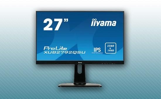 """Монитор 27"""" Iiyama XUB2792QSU-B1 Black"""