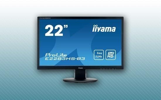 "Монитор 21.5"" Iiyama E2283HS-B3 Black"