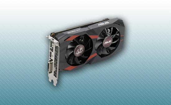 Видеокарта ASUS GTX 1050Ti 4Gb GDDR5