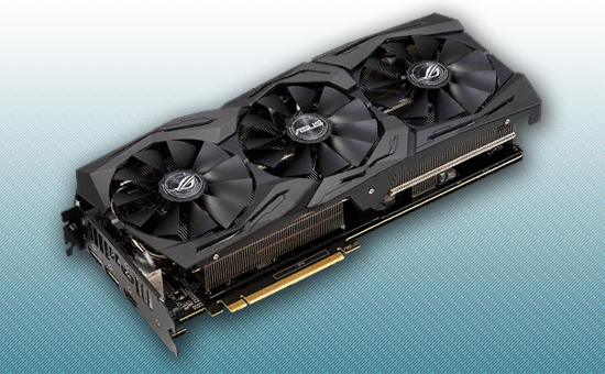 Видеокарта ASUS RTX 2060 ROG STRIX GAMING 6Gb