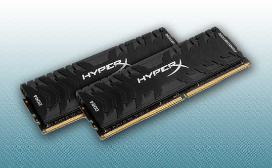 Оперативная память DDR4 16GB kit  Kingston HyperX Predator Black[HX433C16PB3K2/16]
