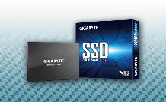 """Твердотельный накопитель SSD 240GB Gigabyte 2.5"""" SATA3 [GP-GSTFS31240GNTD]"""