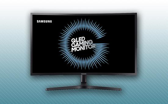 "Игровой Монитор 27"" Samsung LC27HG70QQIXCI Black"