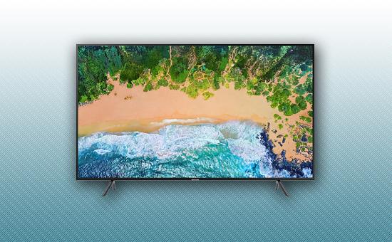 "Телевизор 65"" Samsung UE65NU7100UXCE Черный"