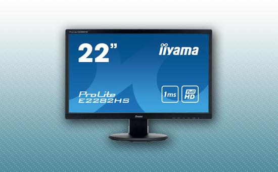 "Монитор 21.5"" Iiyama E2282HS-B1 Black"