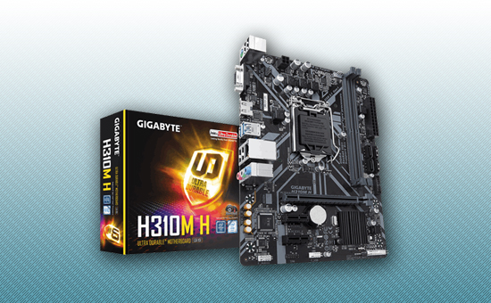 Материнская плата Gigabyte H310M H
