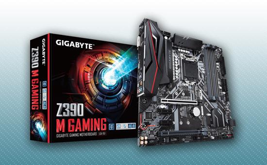 Материнская плата Gigabyte Z390M Gaming