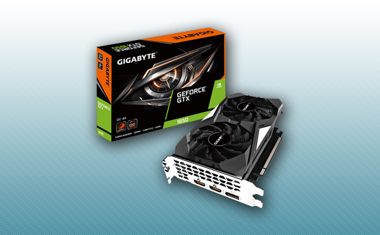 Видеокарта Gigabyte GTX 1650 OC 4G GDDR5