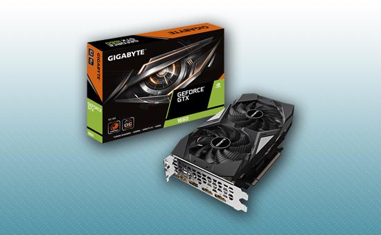 Видеокарта Gigabyte GTX 1660 OC 6G GDDR5