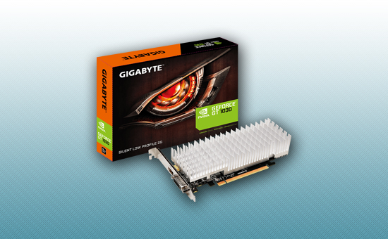 Видеокарта Gigabyte GT1030 2Gb GDDR5