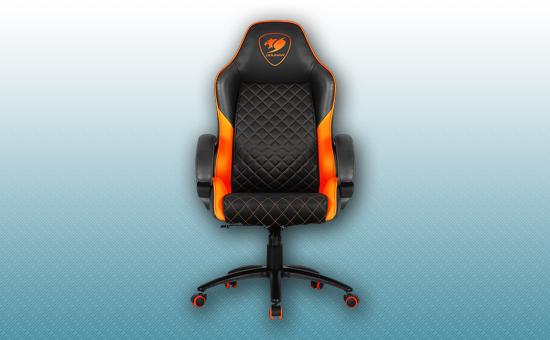 Игровое кресло HEC Cougar Fusion Orange