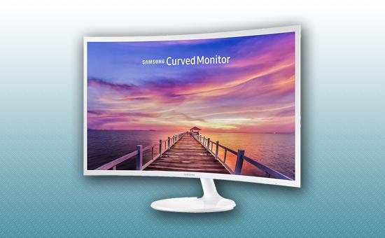 """Монитор 32"""" Samsung LC32F391FWIXCI"""