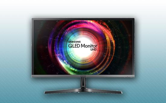"""Монитор 28"""" Samsung LU28H750UQIXCI Черный / серый"""