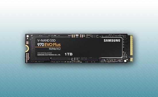 Твердотельный накопитель SSD 1TB Samsung 970EVO Plus NVMe M.2 [MZ-V7S1T0BW]