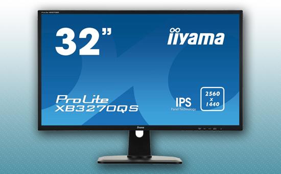 "Монитор 32"" Iiyama XB3270QS-B1 Black"