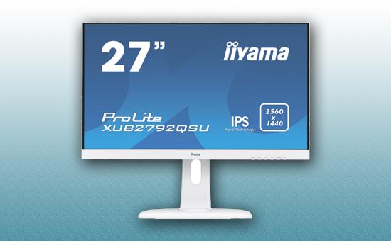"""Монитор 27"""" Iiyama XUB2792QSU-W1 White"""