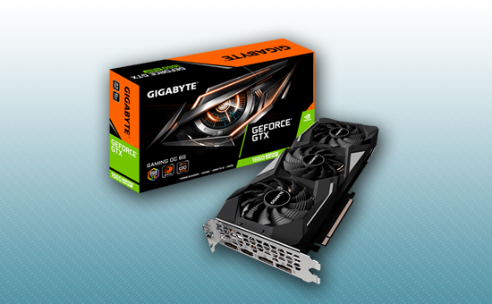 Видеокарта Gigabyte GTX 1660 SUPER GAMING OC 6G