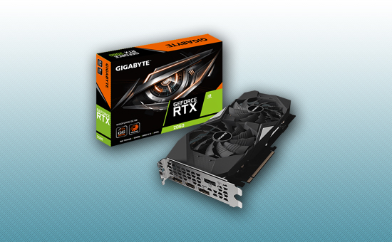 Видеокарта Gigabyte RTX 2060 WINDFORCE OC 6Gb GDDR6