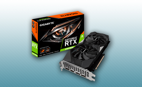 Видеокарта Gigabyte RTX 2060 SUPER WINDFORCE OC 8Gb