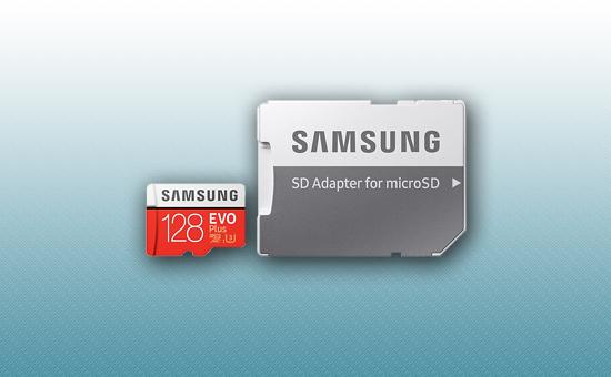 Карта памяти MicroSDXC 128Gb Samsung EVO Plus