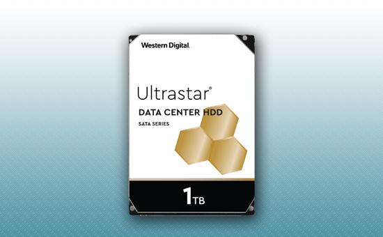 Жесткий диск 1Tb WD Ultrastar 7200 rpm SATA 6Gb/s 128Mb 3