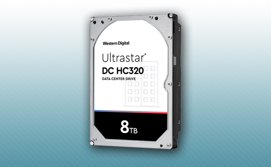 Жесткий диск 8Tb WD Ultrastar 7200 rpm SATA 6Gb/s 128Mb 3