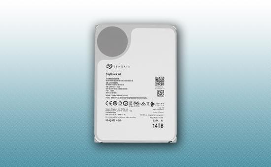 Жесткий диск 14Tb Seagate SkyHawk AI 7200 rpm SATA 6Gb/s 256Mb 3