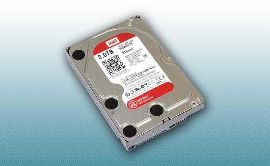 Жесткий диск 2Tb WD RED 5400 rpm SATA 6Gb/s 64Mb 3