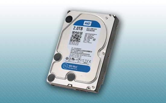 """Жесткий диск 2Tb WD Blue 5400rpm 64Mb 3.5"""""""