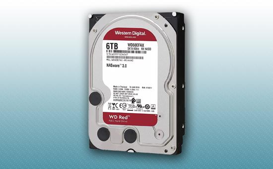 Жесткий диск 6Tb WD RED 5400 rpm SATA 6Gb/s 64Mb 3