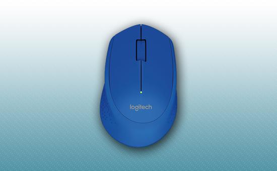 Мышь Беспроводная Logitech M280 Blue