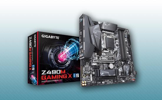 Материнская плата Gigabyte Z490M Gaming X
