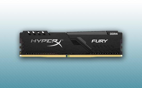 Оперативная память DDR4 16GB  Kingston HyperX Fury Black